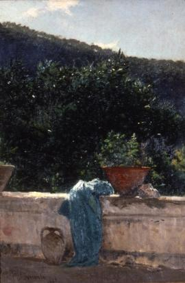 Largew, la terrazza a Sorrento, 1886