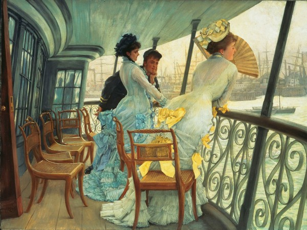 James Jacques Tissot, La galleria dell�Hms Calcutta del 1886